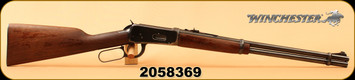 "Consign - Winchester - 30-30Win - Model 94 - Lever Action - Straight-Grip Walnut Stock, Blued, 20""Barrel, Steel butt plate, full-length magazine, Manufactured in 1953"