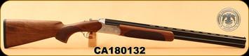 "Huglu - 12Ga/3""/26"" - 103C - O/U - Turkish Walnut/Silver Reciever w/gold inlay birds/Blued Barrel, single trigger, 5pc. Mobile Choke, SKU# 8681715390222, S/N CA180132"