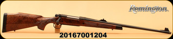 """Remington - 7mmRemMag - Model 700 BDL - 200th Anniversary Limited Edition - Engraved Walnut Stock/Blued, 24"""" Barrel, 4 Rounds, Mfg# 84042, S/N 20167001204 - Includes a commemorative bicentennial display box"""