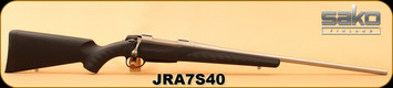 "Sako - 270WSM - A7S - Black Synthetic Soft-Touch/Stainless, 24 3/8""Barrel, Mfg# JRA7S40 - New w/damaged box"