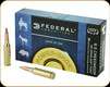 Federal - 6.5 Creedmoor - 140 Gr - Power-Shok - Jacketed Soft Point - 20ct - 65CRDB