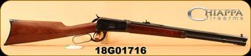"Chiappa - 44RemMag - Model 1892 Take Down - Lever Action - Walnut/Case Hardened Receiver/Blued, 20""Octagonal Barrel, 10 round tube magazine, Mfg# 920.326, S/N 18G01716"