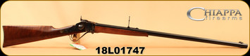 "Chiappa - 45-70Govt - Model 1874 Sharps Sporting Rifle - Falling Block Action - Walnut/Color Case Receiver/Blued, 32""Octagonal Barrel, Mfg# 920.001, S/N 18L01747"