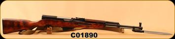 """Consign - SKS - 762x39 - Russian Tula 1955r - Wd/Bl/20""""Barrel, c/w Bayonet"""