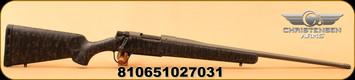 "Christensen Arms - 308Win - Mesa - Model 14 - Black w/Grey Webbing Carbon Fiber Composite Stock/Tungsten Cerakote, 22""Threaded Barrel"