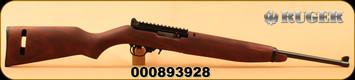 """Ruger - 22LR - 10/22 M1 Carbine - Wood/Satin Black, 10rd magazine, 18.5""""Barrel, Mfg# 21138"""
