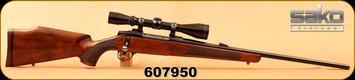 "Used - Sako - 7mmRemMag - AV - Walnut/Blued, 22.4""Barrel, c/w Leupold VX-II 3-9x40mm, crosshairs reticle"