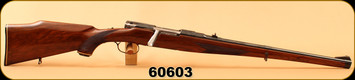 """Used - Steyr Mannlicher Schoenauer - 30-06 - Model MCA - Wd Full stock/Blued, 20""""Barrel, untapped, c/w leather sling"""
