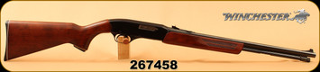 """Used - Winchester - 22Mag - Model 275 - Pump Action - Walnut/Blued, 20.5""""Barrel, fixed front sight, adjustable rear sight"""