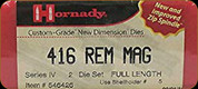 Hornady - Full Length Dies - 416 Rem Mag - 546426