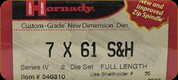 Hornady - Full Length Dies - 7x61 S&H - 546310