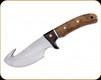 """Boker - Magnum Elk Hunter Gut Hook - 4.4"""" Blade - 440A - Rosewood Blade - 02GL686"""