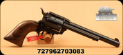 "Heritage - 22LR - Small Bore Revolver - Single Action Revolver - Brown Pearl Grips/Blued,  6.5""Barrel, Fixed Sights, Mfg# RR22B6BRPRL"