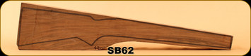 Stock Blank - Rifle Stock - Grade 4+ New Zealand Walnut - 420 - SB62