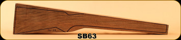 Stock Blank - Rifle Stock - Grade 4 New Zealand Walnut - G4-22 - SB63