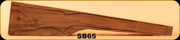 Stock Blank - Rifle Stock - Grade 3 New Zealand Walnut - 10 - SB65