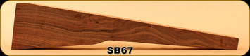 Stock Blank - Rifle Stock - Grade 2+ New Zealand Walnut - 5 - SB67