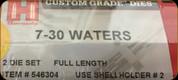 Hornady - Full Length Dies - 7-30 Waters - 546304