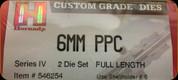 Hornady - Full Length Dies - 6mm PPC - 546254