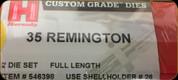 Hornady - Full Length Dies - 35 Remington - 546398