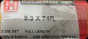 Hornady - Full Length Dies - 9.3x74R - 546414
