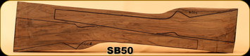 Stock Blank - 2 Rifle Stocks - Grade 3 New Zealand Walnut - 610/619 - SB50