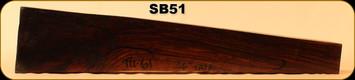 Stock Blank - Rifle Stock - Turkish Walnut - TU-61 - SB51