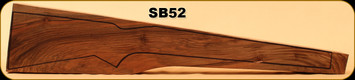 Stock Blank - Rifle Stock - Grade 4 New Zealand Walnut - SB52