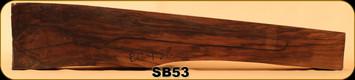 Stock Blank - Rifle Stock - Grade 5 Turkish Walnut - EC-1-28 - SB53