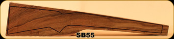 Stock Blank - Rifle Stock - Grade 5+ New Zealand Walnut - 562 - SB55