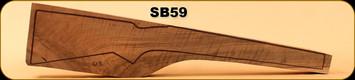 Stock Blank - Rifle Stock - Grade 4+ New Zealand Walnut - 613 - SB59