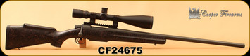 """Consign - Cooper - 6.5x284 - Model 52 - Black w/red web Synthetic/Blued, Accuracy International 25""""Barrel, c/w Sightron SIII 8-32x56 Scope, MOA-2 Reticle, Unfired Lapua Brass, bullets, dies - Approximately 20 rounds through rifle - In AP camo Plano G"""