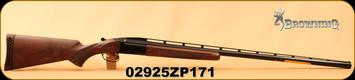 "Browning - 12Ga/2.75""/34"" - BT-99 - Single Barrel Trap Shotgun - Grade 1 Walnut Stock/Blued Finish, Mfg# 017054401, S/N 02925ZP171"