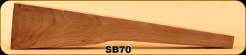 Stock Blank - Rifle Stock - Grade 2 New Zealand Walnut - PR2 - SB70