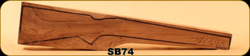 Stock Blank - Rifle Stock - Grade 2+ New Zealand Walnut - SB74