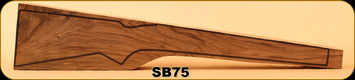 Stock Blank - Rifle Stock - Grade 3+ New Zealand Walnut - 10 - G3+ - SB75