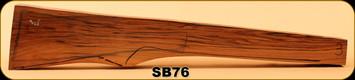 Consign - Stock Blank - Rifle Stock - Grade 3 Turkish Walnut - 98 - SB76