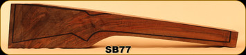 Stock Blank - Rifle Stock - Grade 3+ Turkish Walnut - SB77