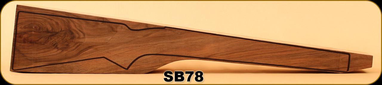 Stock Blank - Rifle Stock - Grade 3+ New Zealand Walnut - 10