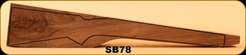 Stock Blank - Rifle Stock - Grade 3+ New Zealand Walnut - 10 - SB78