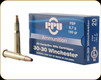 PPU - 30-30 Win - 150 Gr - FSP - 20ct - PP30301