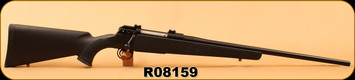 "Used - Sig Arms - 7mm Express Remington (280Rem) - Model SHR 970 - Black Synthetic/Blued, 22""Barrel, Detachable Box Magazine, in two-tone brown soft case"
