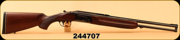 "Used - Valmet - 9.3x74R/12Ga/2.75""/28"" - 412S Combination O/U - Oil Walnut/Blued, 23.6"" Rifle Barrel, Integral Dovetail"