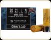 "Federal - 20 Ga 2.75"" 7/8oz - 7.5 Shot - Game Shok - 25ct - H20075"