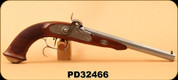 "Consign - Pedersoli - 44Cal - Le Page Target/Dueling Pistol - Percussion Model - Oiled European Walnut/outside chromed and satin finish 10.25"" hook breech barrel, Set Trigger, New - Unfired - Comes in Case with Accessories"