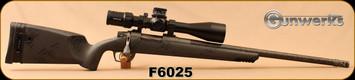 "Gunwerks - 6.5PRC- Magnus - Carbon Black Carbon Fiber Stock/SS, Tungsten Carbon Wrapped 22""Barrel - Kahles K525i 5-25x56 MOAK"