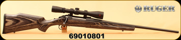 """Used - Ruger - 270Win - American - Grey Laminate Boyds Stock/Blued, 22""""Barrel, c/w Redfield Revolution 4-12x40, Accu-Range Reticle"""