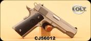 "Used - Colt - 45ACP - 1911 Commander - Composite Grip/Brushed Stainless Steel Slide and Frame, 4.25""Barrel, Mfg# O4091U, c/w 2 magazines - In original hard case"