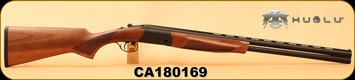 "Huglu - 20Ga/3""/26"" - Eagle S - O/U - Turkish Walnut/Black Finish, Extractor, 5pc. Mobile Choke, S/N CA180169"