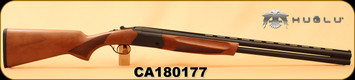 "Huglu - 12Ga/3""/28"" - Eagle S - O/U - Turkish Walnut/Black Finish, Extractor, 5pc. Mobile Choke, SKU# 8681715390178, S/N CA180177"